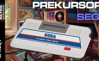 🎮 Sega SG-1000 – pierwszy konkurent Famicoma